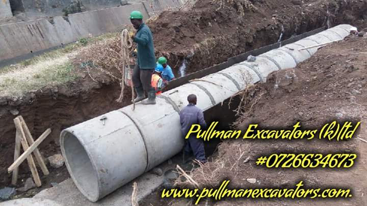 Drainage,sewer services/Kenya
